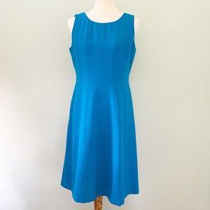 Jones New York Turquoise Sheath Dress Size 8